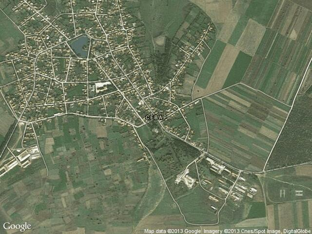 Сателитна карта на Севар
