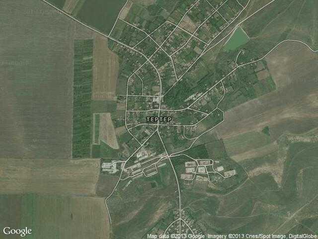 Сателитна карта на Тертер