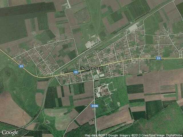 Сателитна карта на Тодорово