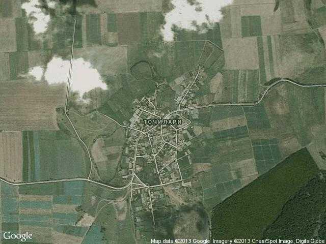 Сателитна карта на Точилари