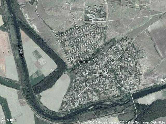 Сателитна карта на Белцов