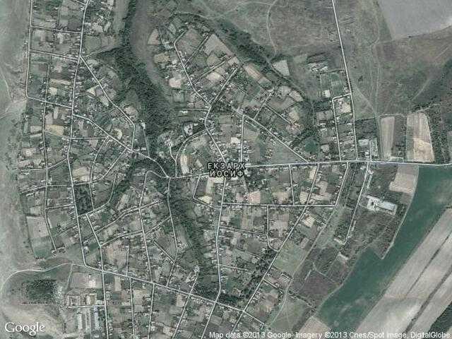 Сателитна карта на Екзарх Йосиф