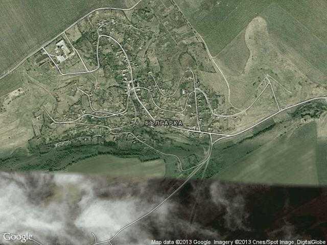 Сателитна карта на Българка