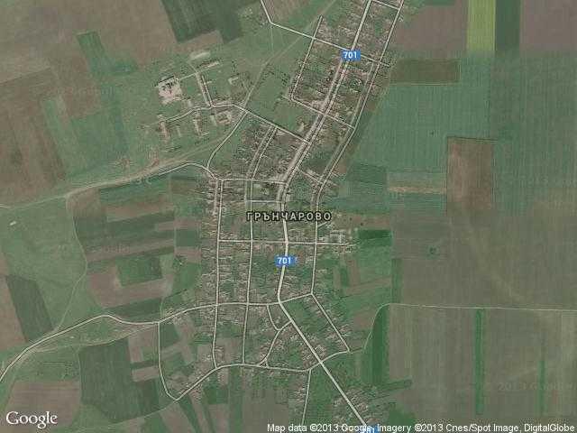 Сателитна карта на Грънчарово