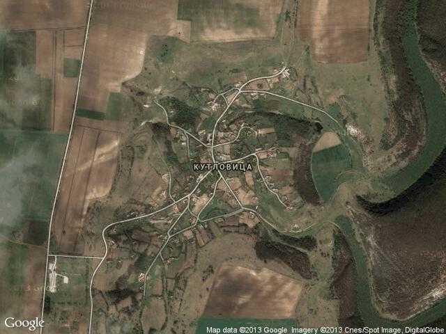 Сателитна карта на Кутловица