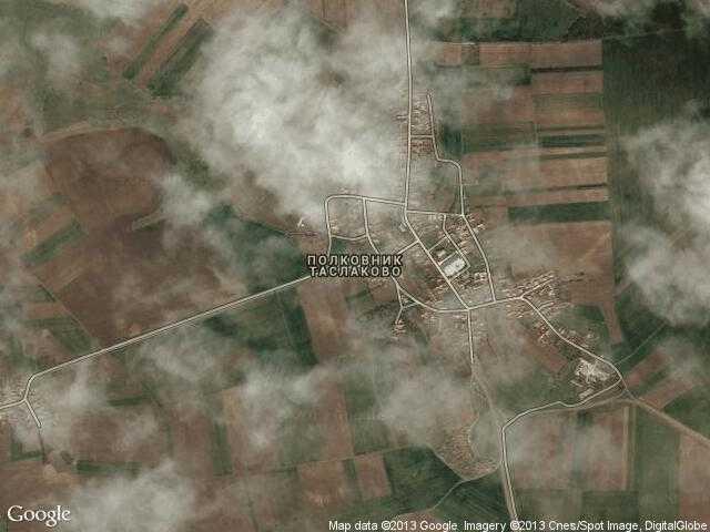 Сателитна карта на Полковник Таслаково