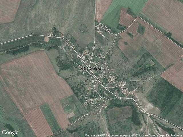 Сателитна карта на Светослав