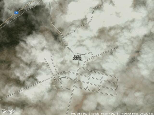Сателитна карта на Цар Асен