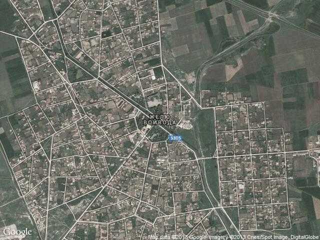 Сателитна карта на Желю войвода