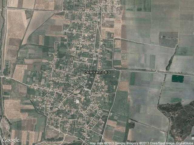 Сателитна карта на Самуилово