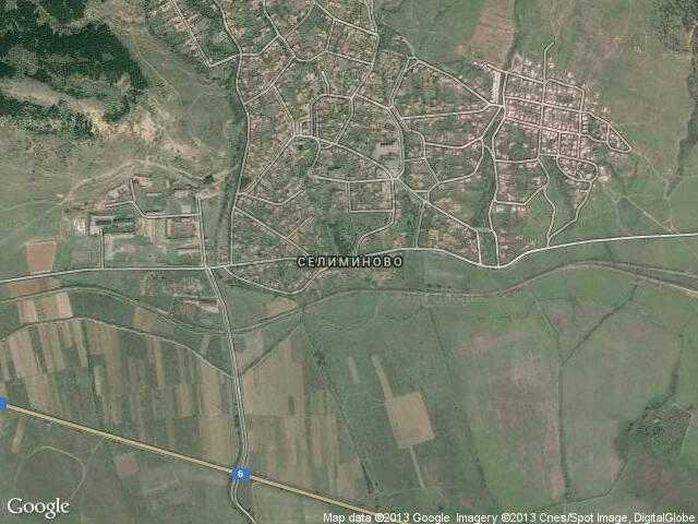 Сателитна карта на Селиминово