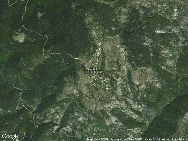 Сателитна карта на Две тополи