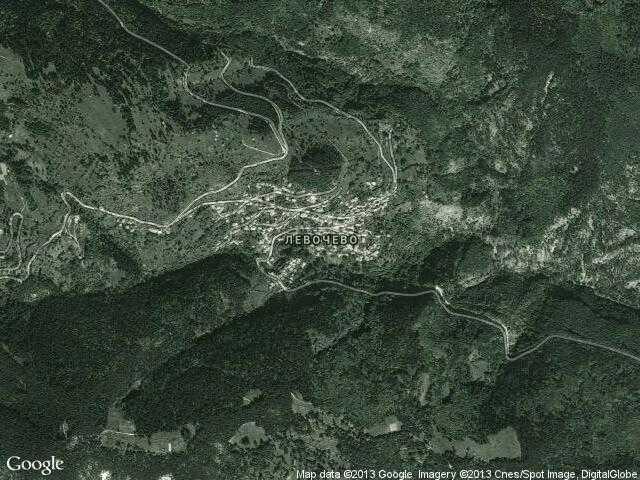 Сателитна карта на Левочево