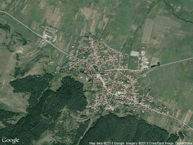Сателитна карта на Белчин