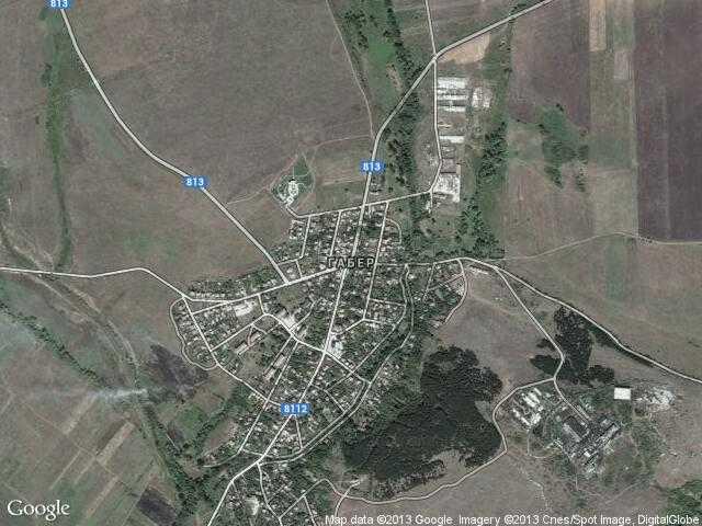 Сателитна карта на Габер
