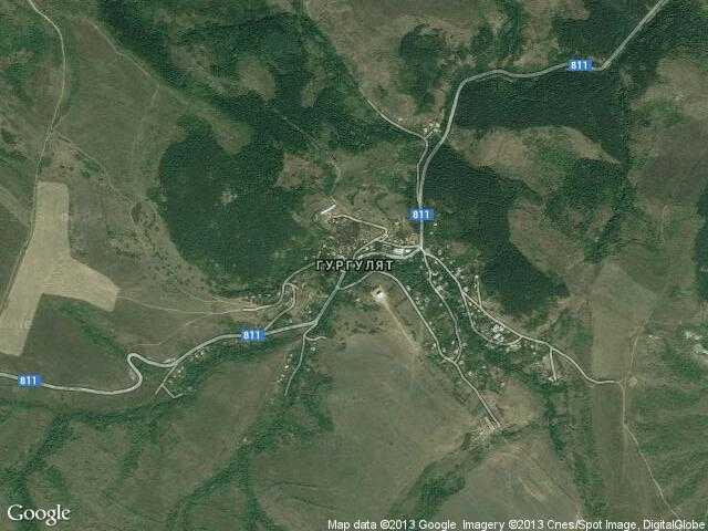 Сателитна карта на Гургулят