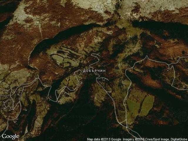 Сателитна карта на Добърчин