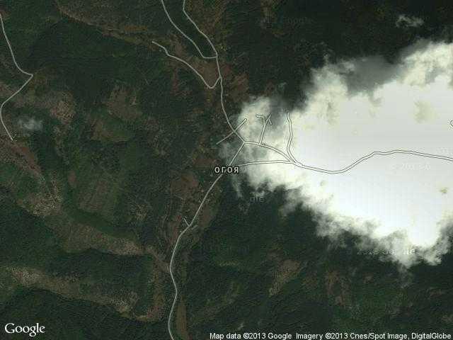 Сателитна карта на Огоя