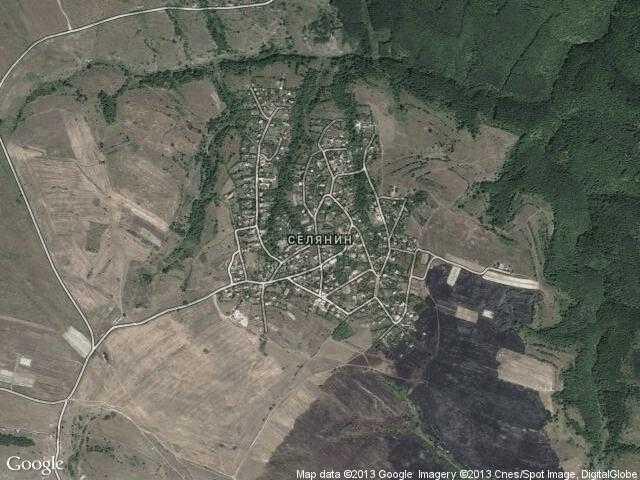 Сателитна карта на Селянин
