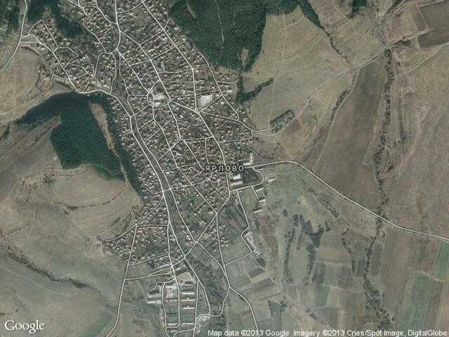Сателитна карта на Ярлово