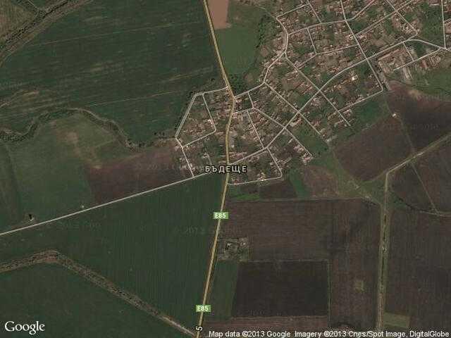 Сателитна карта на Бъдеще