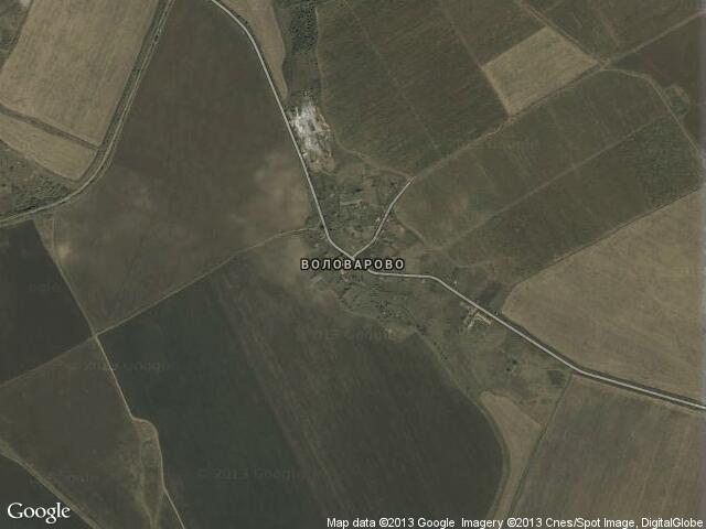 Сателитна карта на Воловарово