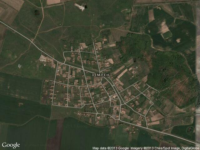 Сателитна карта на Землен