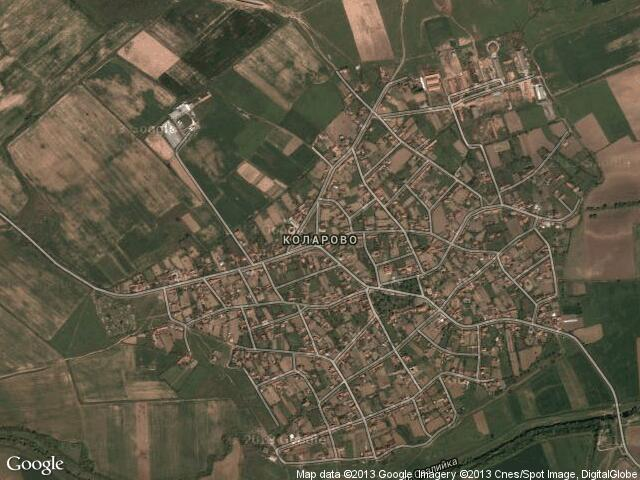 Сателитна карта на Коларово