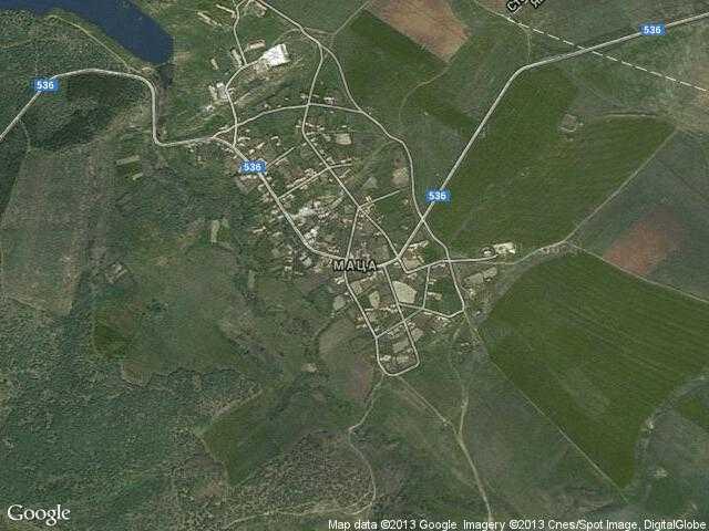 Сателитна карта на Маца