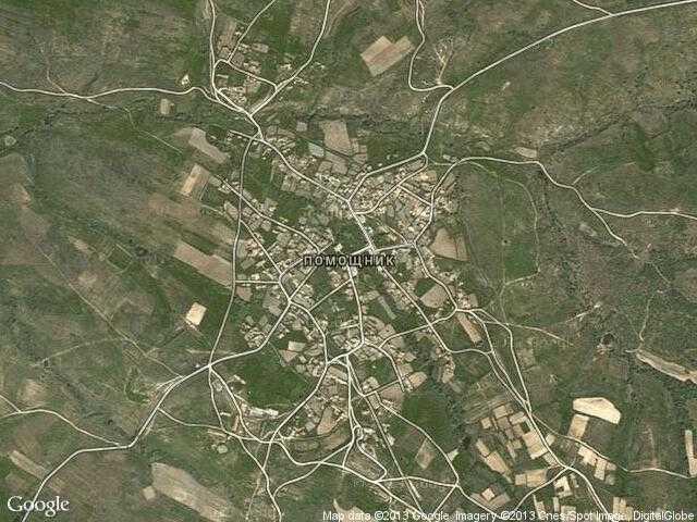 Сателитна карта на Помощник