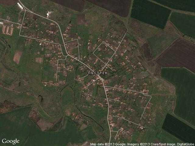 Сателитна карта на Пъстрен