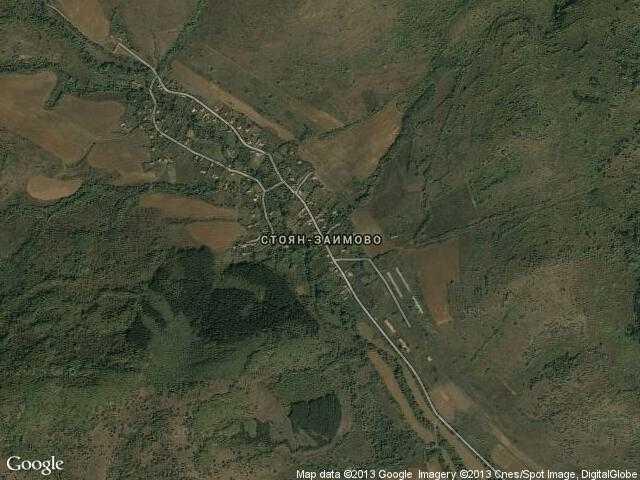 Сателитна карта на Стоян-Заимово