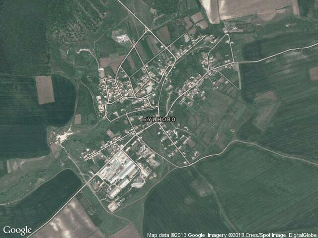 Сателитна карта на Буйново