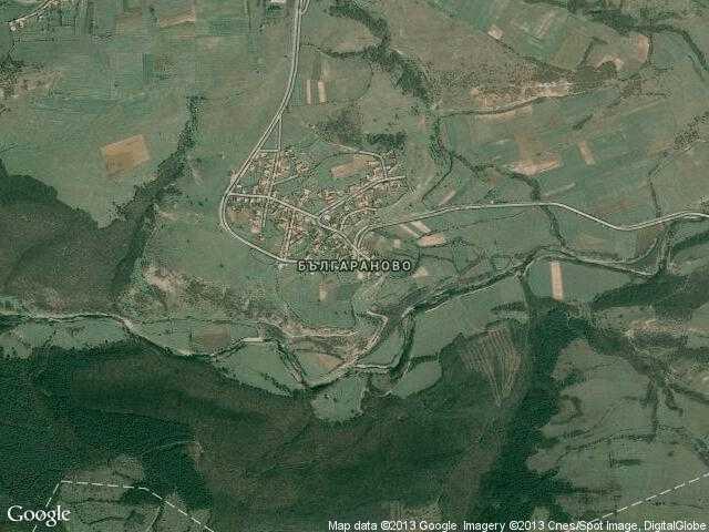 Сателитна карта на Българаново