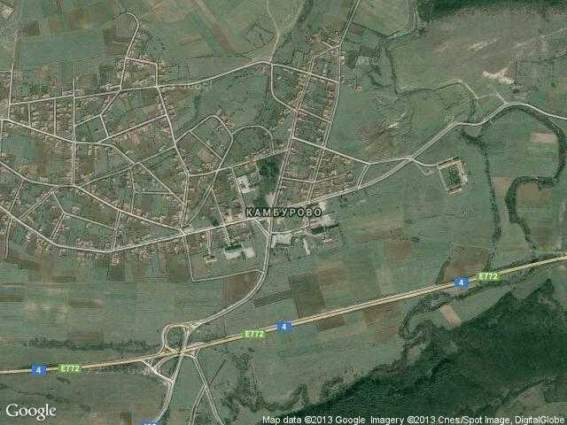 Сателитна карта на Камбурово