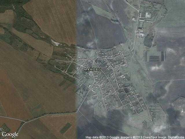 Сателитна карта на Маково