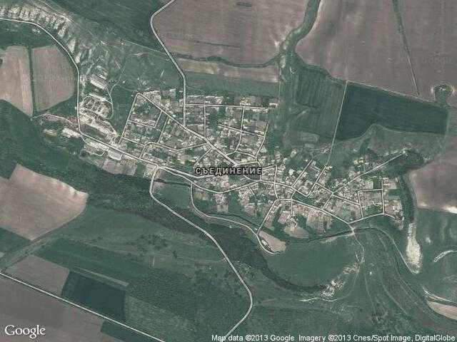 Сателитна карта на Съединение