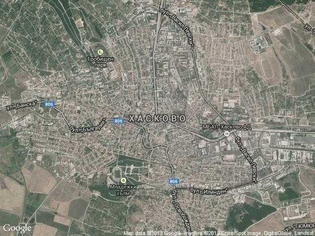 Karta 2019 Maps Haskovo