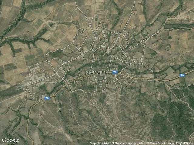 Сателитна карта на Българин