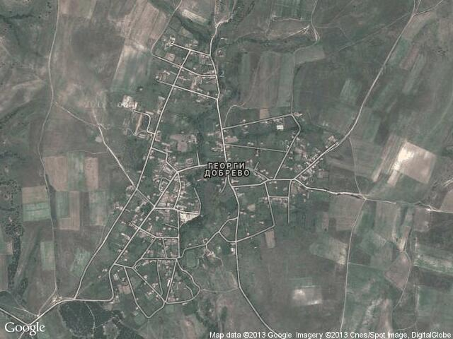Сателитна карта на Георги Добрево