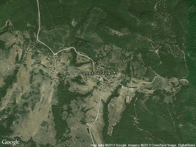 Сателитна карта на Златоустово