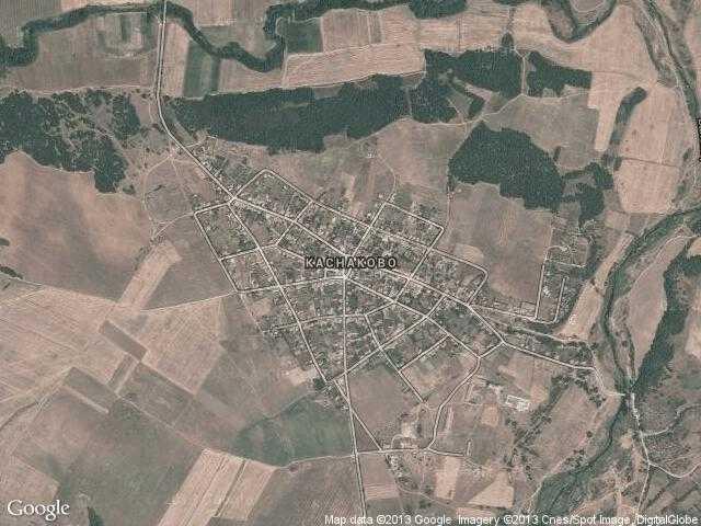 Сателитна карта на Каснаково