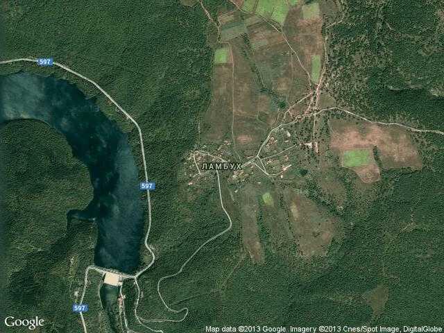 Сателитна карта на Ламбух