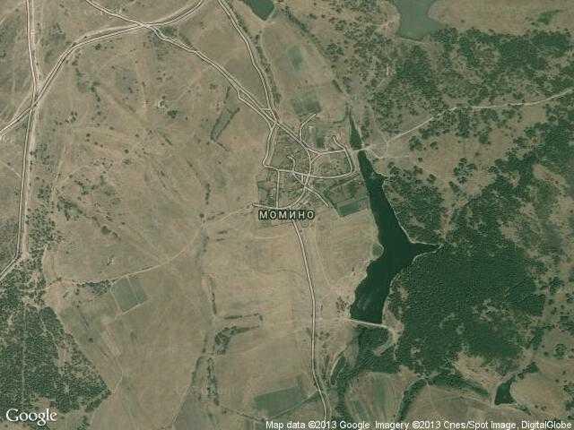 Сателитна карта на Момино