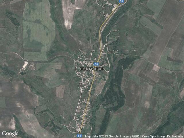 Сателитна карта на Пъстрогор