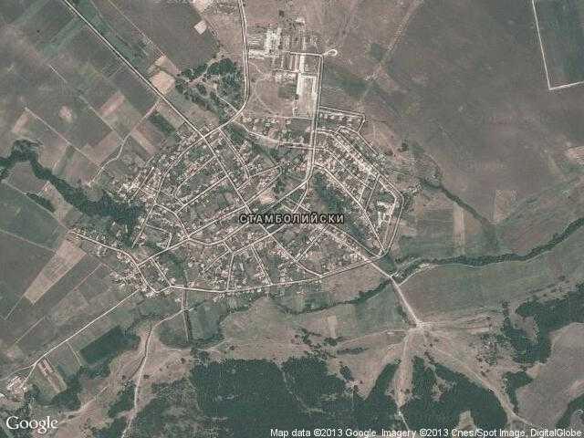 Сателитна карта на Стамболийски