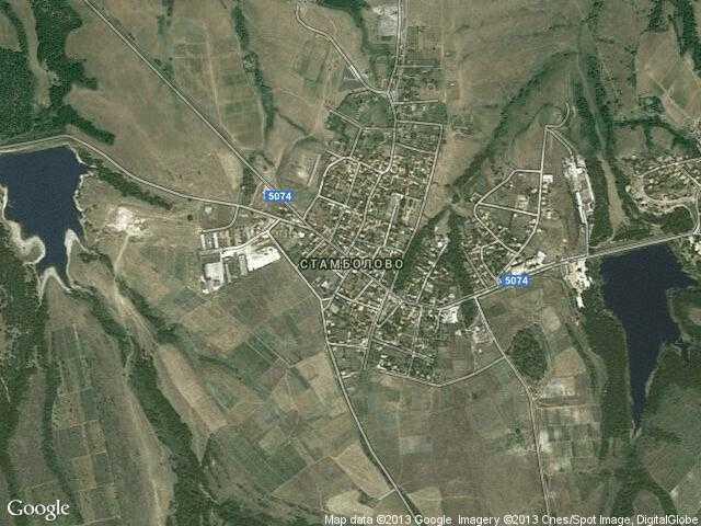 Сателитна карта на Стамболово