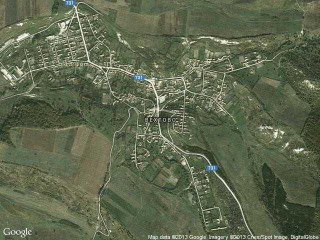 Сателитна карта на Вехтово