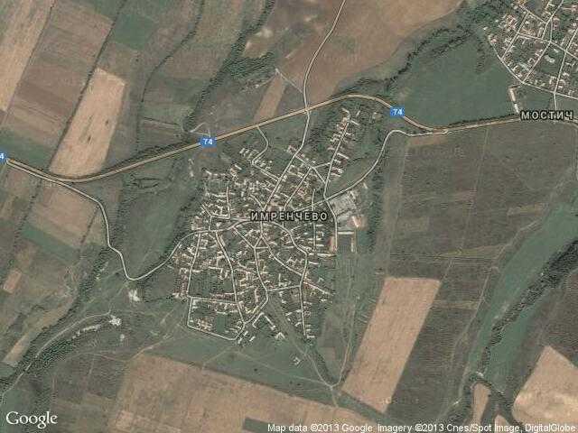 Сателитна карта на Имренчево