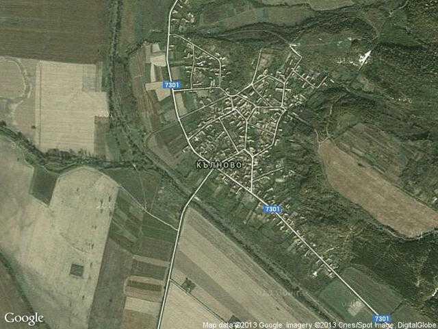 Сателитна карта на Кълново